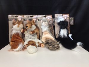 All For Paws Road Kill Toys - They Have Squeakers Inside Of Them - Their Eco Friendly Plush Toy - No Poly Stuffing